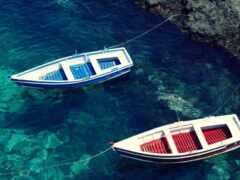 море, лодка, water