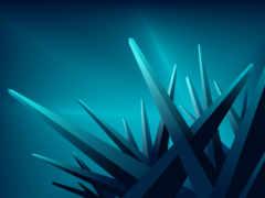 углы, кристалы, лучи