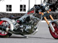 мотоциклы, bike, chopper