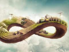 agricultura, бесконечность, ciclo