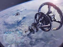 астронавт, космос, spacex