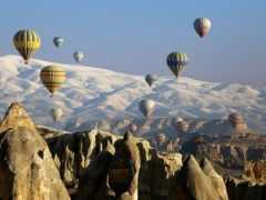 kapadokya, balon, udara