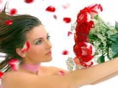 женщина, день, love