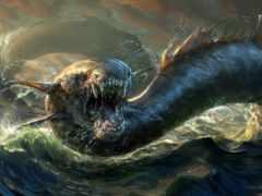 левиафан, monster, морское