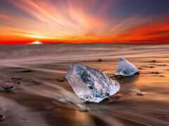 iceland, тв, лед