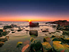 камни, море, красивые