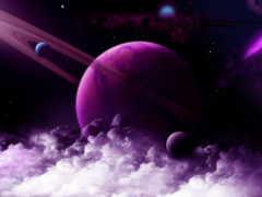 cosmos, красивые, планеты