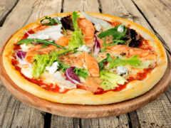 пицца, california, fish