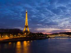 париж, экскурсия, река