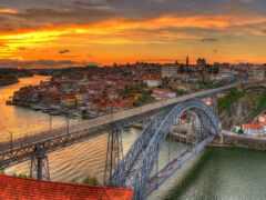 португалия, dom, мост