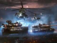 танк, war, thunder