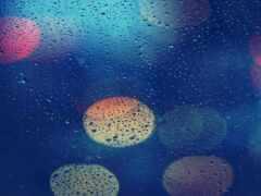 wet, glass