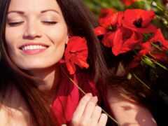 женщина, happy, gentle