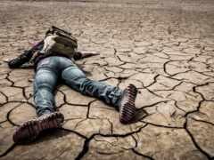 одиночка, пустыня, life
