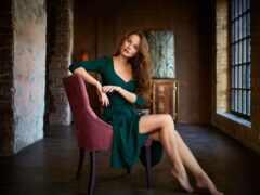 sit, женщина, модель