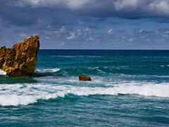 природа, горизонт, rock