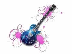 фото, гитара, cheerful
