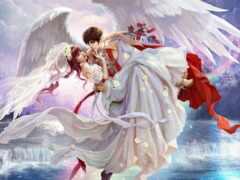 ангела, арта, парень