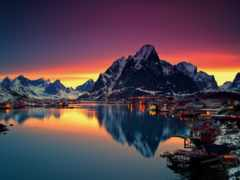 norwegian, викингов, фьордами