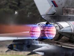 самолёт, истребитель, военный