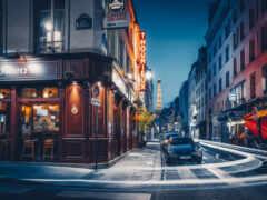 париж, calles, санкт