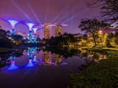 singapore, ночь