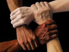 rassismus, рука, nein