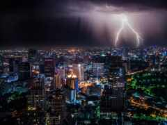 lightning, bangkok, thai