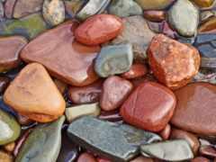 морские, камешки, камни
