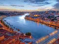 lisbon, португалия, река
