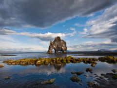 rock, hvitserkur, исландии