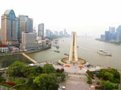 shanghai, река, china
