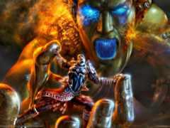 war, god, kratos