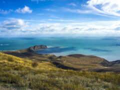 ocean, небо, природа