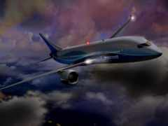 boeing, самолёт, civil