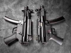 koch, heckler, пистолет