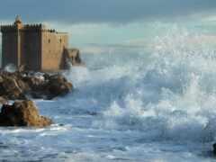 разруха, castle, буря