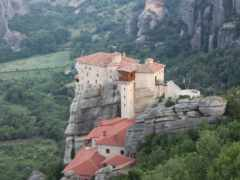 greece, метеоры, монастыри