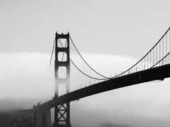 gate, мост, white