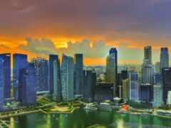 bay, песок, singapore