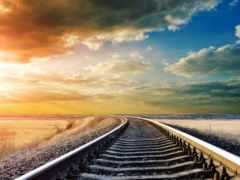 железнодорожные, пути, car