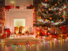 garland, коллекция, рождественский