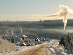 landscape, winter, сибирь