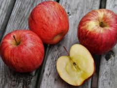 яблоки, красные