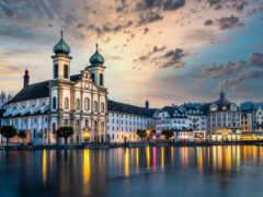 jesuitenkirche, швейцария, church