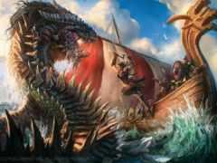 monster, море, кракен