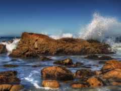 мар, rocas, las