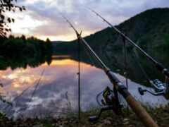 рыбалка, озеро