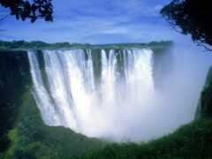 пасть, victoria, водопад
