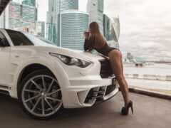 девушка, car, драйв
